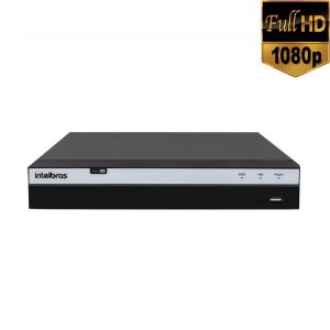 Gravador de video DVR Multi HD 16 canais FULL HD -  Intelbras MHDX 3016 - HDCVI - HDTVI - AHD - ANALOGICA - IP