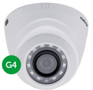 Camera Intelbras Infravermelho Multi HD Dome VHD 1010 D G4 720p