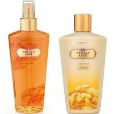 KIT CREME + BODY SPLASH VANILLA LACE VICTORIA´S SECRET 250ml CADA