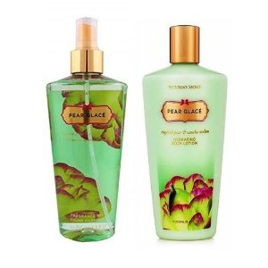 KIT CREME+BODY SPLASH PEAR GLACÊ VICTORIA´S SECRET 250ml CADA