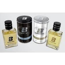KIT BOXTER BLACK AND WHITE MASCULINO EAU DE TOILETTE 100 ML CADA