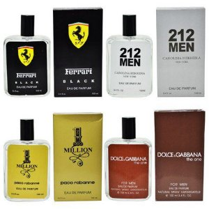KIT 4 Perfume Masculinos variados Similar ao Original 10ml
