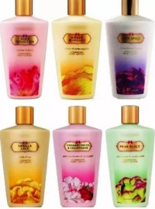 Kit Creme Hidratante Victoria's Secret 5 Unidades Variados