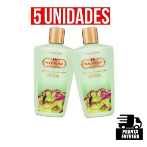 Kit com 5 cremes pear glace 250ml