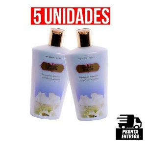 KIT COM 5 CREMES HIDRATANTE SECRET CHARM VICTORIA´S SECRET 250ml