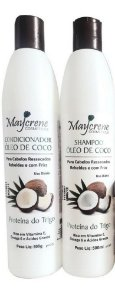 KIT SHAMPOO E CONDICIONADOR MAYCRENE 500ML