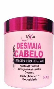 Creme hidratante capilar desmaia cabelo 500ml Naxos