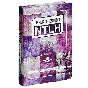 Bíblia de Estudo NTLH - Arte feminina