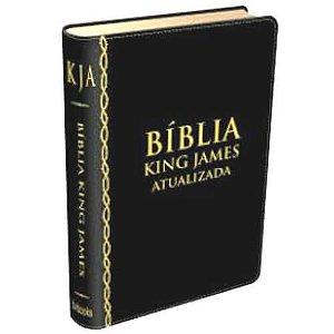 Bíblia King Jeams Atualizada preta