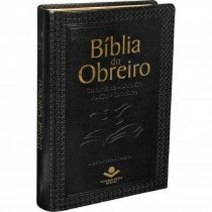 Bíblia do Obreiro  / Concordância- Dicionario - Auxílios - Cerimonias / preta / ARA / SBB