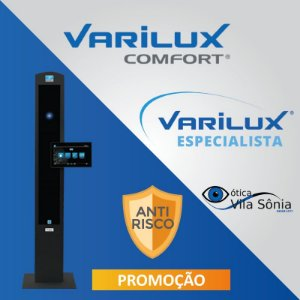 VARILUX COMFORT | ORMA (ACRÍLICO) ANTIRREFLEXO