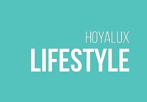 HOYA ID LIFESTYLE | 1.50 ACRÍLICO | ANTIRREFLEXO BLUECONTROL OU LONGLIFE | +6.00 a -8.00; CIL. ATÉ -4.00