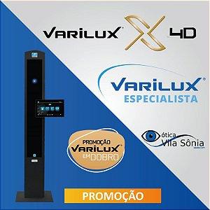 VARILUX X 4D | STYLIS 1.67 | TRANSITIONS | CRIZAL SAPPHIRE OU PREVENCIA