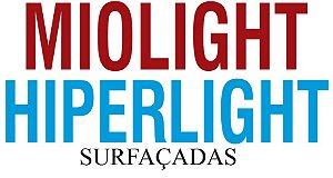 MIOLIGHT / HIPERLIGHT | 1.67 SENSITY | VISÃO SIMPLES SURFAÇADAS | +8.00 ATÉ -10.00 CIL -6.00