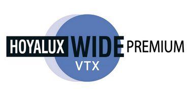 HOYA WIDE PREMIUM VXT | TRIVEX | +6.00 a -8.00; CIL. ATÉ -6.00