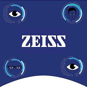 ZEISS VISÃO SIMPLES INDIVIDUAL | 1.60 | PHOTOFUSION CINZA/MARROM