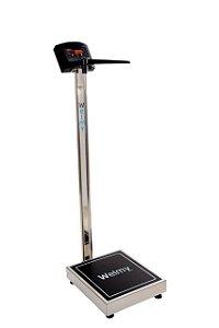 Balança Digital com Antropômetro W200/50 A INOX Welmy