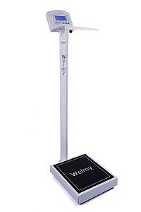 Balança digital com antropômetro W 200 A/100g - Welmy