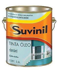 TINTA OLEO BRILHANTE BRANCO 3,6 LITROS SUVINIL