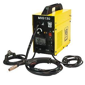 Maquina de Solda Mig 130 60hz monofásica