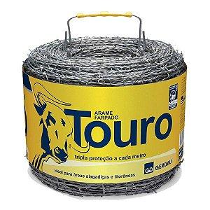 ARAME FARPADO TOURO 500MTS TRIPLA ZINC.GERDAU