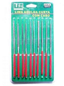 JOGO DE LIMA AGULHA COM 10 PEÇAS LEE TOOLS