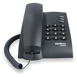 TELEFONE PLENO PRETO INTELBRAS