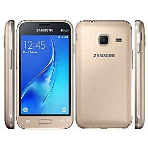 21405 SMARTPHONE SAMSUNG J1 MINI 3G DUAL CHIP J105B PRETO