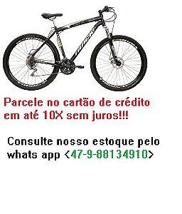 21194 BICICLETA TRACK A 29 21V SUSPENSAO DIANTEIRA PRETA