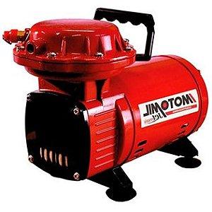 2436 MOTOCOMPRESSOR AR DIRETO 1 3HP C ACESSORIO HOBBY JETMIL JETM