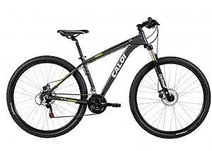 30554 Bicicleta Caloi Velox Aro 29 21 Marchas - Suspensão Dianteira Quadro de Aço Freio à Disco