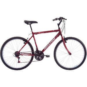 23209 BICICLETA HOUSTON A 26 FOXER HAMMER VERMELHA SUN RED