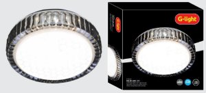 30029 PLAFON MILAO 280 LED 12 W G LIGTH