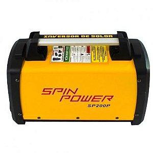 20581 MAQUINA INVERSOR DE SOLDA 200A 220V SP200P SPIN POWER VULC*