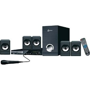 Home Theater DVD Player 1080P Lenoxx HT728