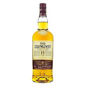The Glenlivet 15 Anos Single Malt Scotch Whisky 750ml
