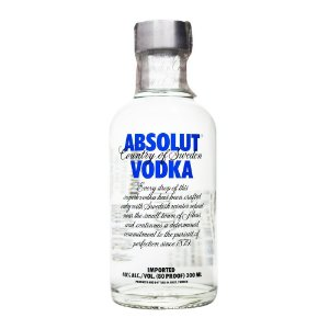 Miniatura Vodka Absolut Regular 200ml