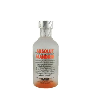 Miniatura Vodka Absolut Mandrin 200ml