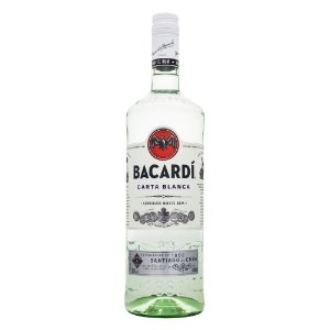 Rum Bacardi Superior Carta Blanca 980ml