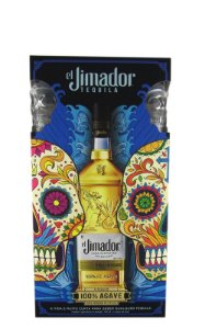 Kit Tequila El Jimador Reposado 750ml c/ 2 copos