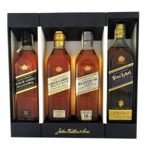 Kit Whisky Johnnie Walker Collection 4X200ml