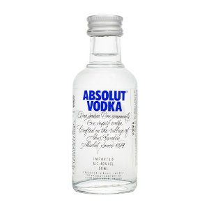 Miniatura Vodka Absolut 50ml