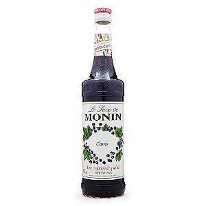 Xarope Monin Cassis (Blackcurrant) 700ml