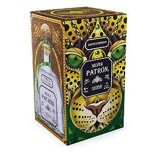 Tequila Patrón Silver Edição Especial Mexican Heritage Tin 750ml
