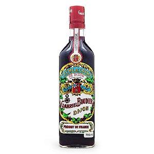 Licor Creme de Cassis de Dijon Gabriel Boudier 700ml