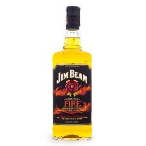 Jim Beam Fire - Licor de Bourbon e Canela 1L