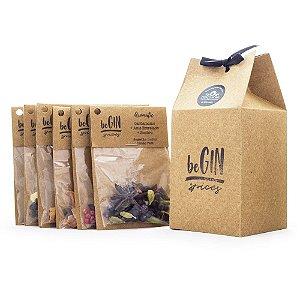 Box Especiarias para Gin Tônica beGIN - 6 Sachês