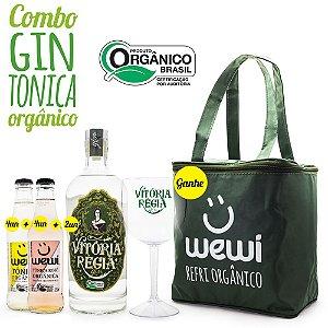 Combo Gin & Tônica Orgânico - Ganhe Taças e Bolsa Térmica