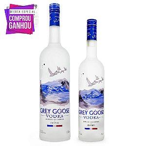 Combo Vodka Grey Goose 1,5L + Grey Goose 750ml
