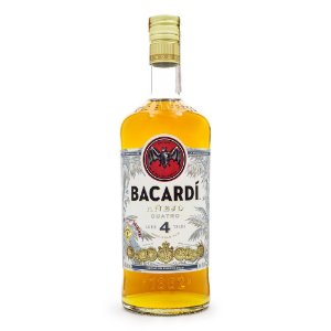 Rum Bacardi Añejo Cuatro - 4 Anos 750ml